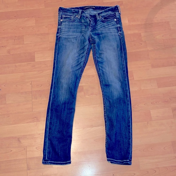 Express Stella Skinny Low Rise Jeans size 8